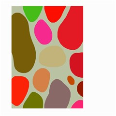 Pattern Design Abstract Shapes Large Garden Flag (Two Sides)