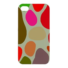 Pattern Design Abstract Shapes Apple iPhone 4/4S Premium Hardshell Case