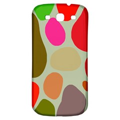 Pattern Design Abstract Shapes Samsung Galaxy S3 S III Classic Hardshell Back Case
