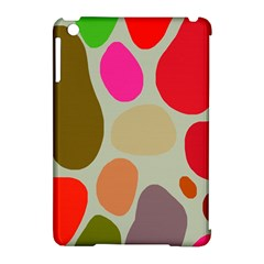 Pattern Design Abstract Shapes Apple iPad Mini Hardshell Case (Compatible with Smart Cover)
