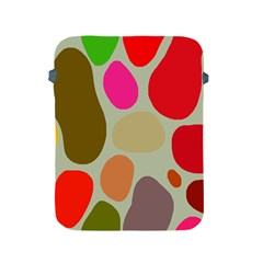 Pattern Design Abstract Shapes Apple iPad 2/3/4 Protective Soft Cases