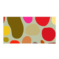 Pattern Design Abstract Shapes Satin Wrap