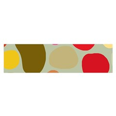 Pattern Design Abstract Shapes Satin Scarf (Oblong)