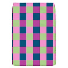 Pink Teal Lime Orchid Pattern Flap Covers (S)