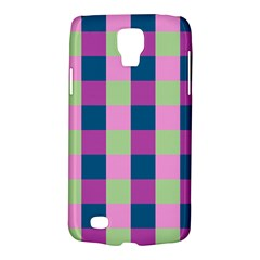 Pink Teal Lime Orchid Pattern Galaxy S4 Active