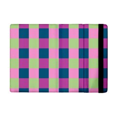 Pink Teal Lime Orchid Pattern iPad Mini 2 Flip Cases