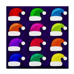 Santa Hats Santa Claus Holidays Face Towel