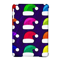 Santa Hats Santa Claus Holidays Apple iPad Mini Hardshell Case (Compatible with Smart Cover)