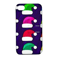 Santa Hats Santa Claus Holidays Apple iPhone 4/4S Hardshell Case with Stand