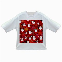 Seamless Santa Tile Infant/Toddler T-Shirts