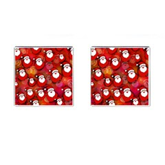 Seamless Santa Tile Cufflinks (Square)