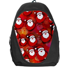 Seamless Santa Tile Backpack Bag