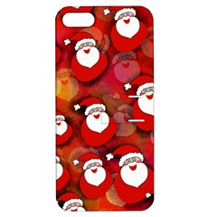 Seamless Santa Tile Apple iPhone 5 Hardshell Case with Stand