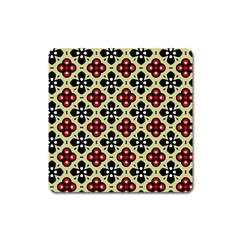 Seamless Tileable Pattern Design Square Magnet