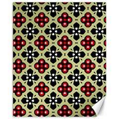 Seamless Tileable Pattern Design Canvas 11  x 14
