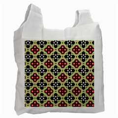 Seamless Tileable Pattern Design Recycle Bag (One Side)