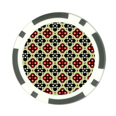 Seamless Tileable Pattern Design Poker Chip Card Guard (10 pack)