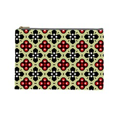 Seamless Tileable Pattern Design Cosmetic Bag (Large)