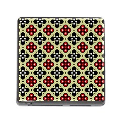 Seamless Tileable Pattern Design Memory Card Reader (Square)