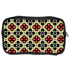 Seamless Tileable Pattern Design Toiletries Bags 2-Side