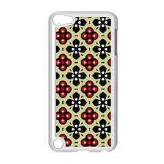 Seamless Tileable Pattern Design Apple iPod Touch 5 Case (White)