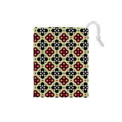 Seamless Tileable Pattern Design Drawstring Pouches (Small)