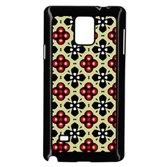 Seamless Tileable Pattern Design Samsung Galaxy Note 4 Case (Black)