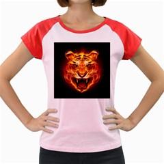 Tiger Women s Cap Sleeve T-Shirt