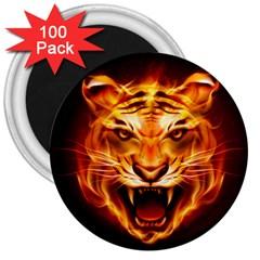 Tiger 3  Magnets (100 pack)