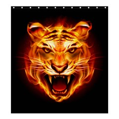 Tiger Shower Curtain 66  x 72  (Large)
