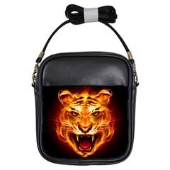 Tiger Girls Sling Bags