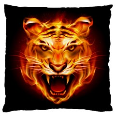 Tiger Large Cushion Case (Two Sides)