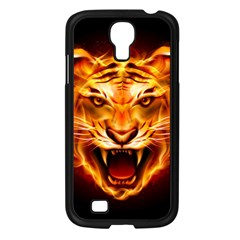 Tiger Samsung Galaxy S4 I9500/ I9505 Case (Black)