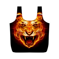 Tiger Full Print Recycle Bags (M)