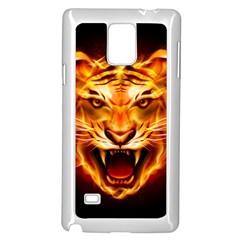 Tiger Samsung Galaxy Note 4 Case (White)