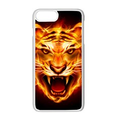 Tiger Apple Iphone 7 Plus White Seamless Case