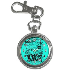 Typography Illustration Chaos Key Chain Watches