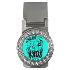 Typography Illustration Chaos Money Clips (CZ)