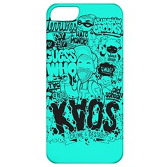 Typography Illustration Chaos Apple iPhone 5 Classic Hardshell Case