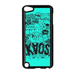 Typography Illustration Chaos Apple iPod Touch 5 Case (Black)