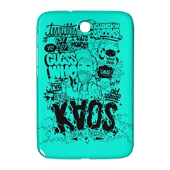Typography Illustration Chaos Samsung Galaxy Note 8.0 N5100 Hardshell Case