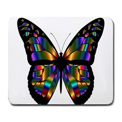 Abstract Animal Art Butterfly Large Mousepads