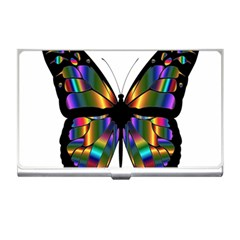 Abstract Animal Art Butterfly Business Card Holders