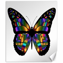Abstract Animal Art Butterfly Canvas 8  x 10