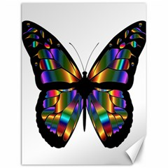 Abstract Animal Art Butterfly Canvas 12  x 16