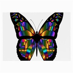 Abstract Animal Art Butterfly Large Glasses Cloth (2-Side)