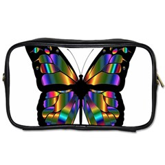 Abstract Animal Art Butterfly Toiletries Bags