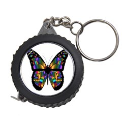 Abstract Animal Art Butterfly Measuring Tapes