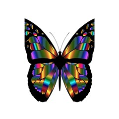 Abstract Animal Art Butterfly Shower Curtain 48  x 72  (Small)