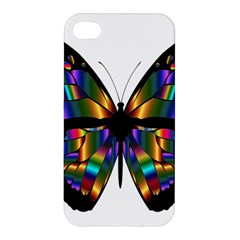 Abstract Animal Art Butterfly Apple iPhone 4/4S Hardshell Case